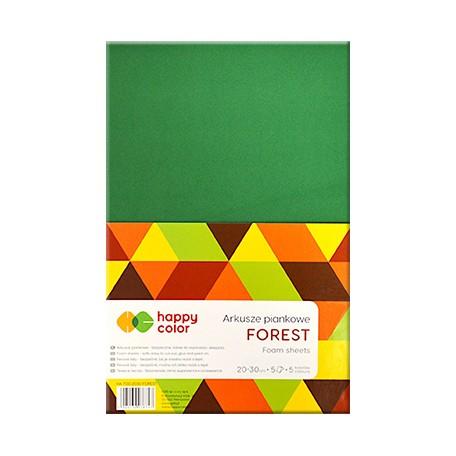 Arkusze piankowe forest happy color