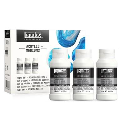 trial set liquitex pouring medium