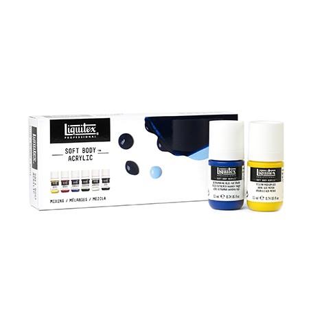 Farby akrylowe Soft Body Liquitex