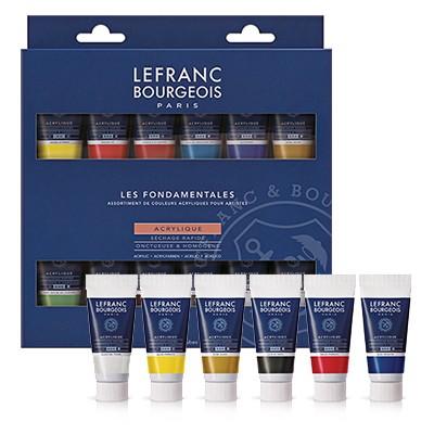Farby akrylowe Lefranc & Bourgeois 12 kolorow