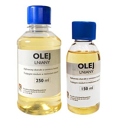 Olej lniany, 1000 ml