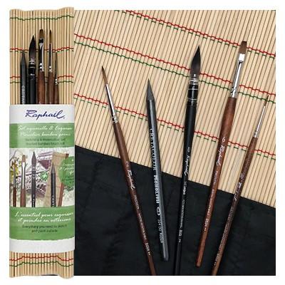 plenerowy zestaw pedzli raphael mata bambus