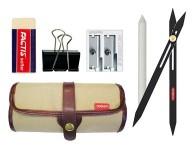 Kredki i ołówki: Gumki, temperówki, akcesoria