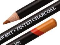 Kredki Derwent Węgiel barwiony Tinted Charcoal