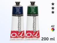 Daler-Rowney Graduate Farby olejne Graduate 200 ml