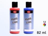 Farby do szkła i ceramiki Matt Glass