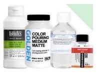 Media do farb akrylowych Media w płynie