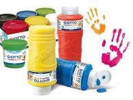 Dla młodych artystów Farby do malowania palcami Dita