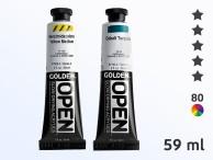 Farby akrylowe: Golden Open