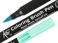 Pisaki i markery Koi Coloring Brush Pen