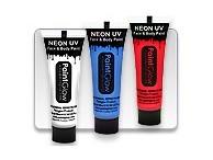 Farby do ciała: Farby do twarzy Neon UV
