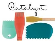 Pędzle i szpachelki Catalyst narzędzia silikonowe