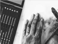 Zestawy kredek i ołówków Szkicowe, ołówki, grafity, węgle