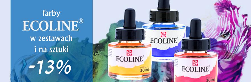 Farby akwarelowe Ecoline 13% Taniej