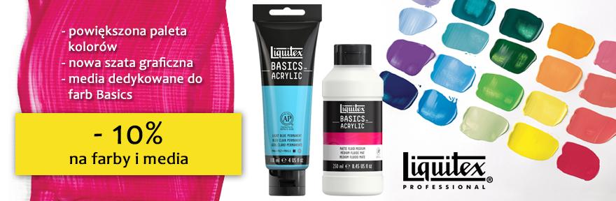 Farby akrylowe Liquitex 118 ml – PROMOCJA - 10%