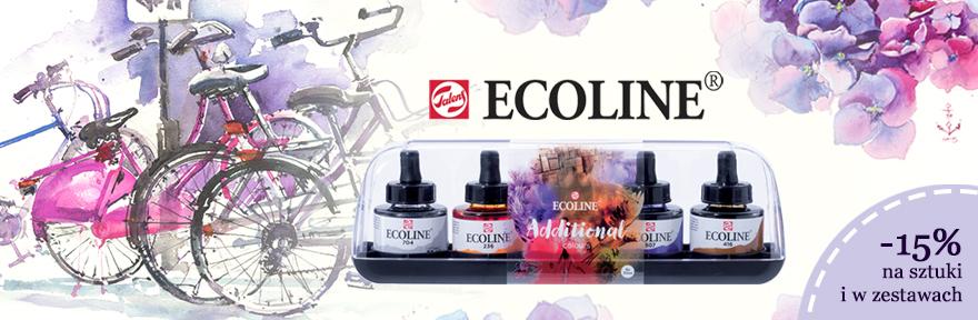 Farby akwarelowe Talens Ecoline 15% taniej!