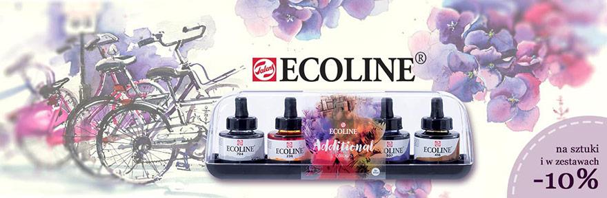Farby akwarelowe Talens Ecoline Promocja