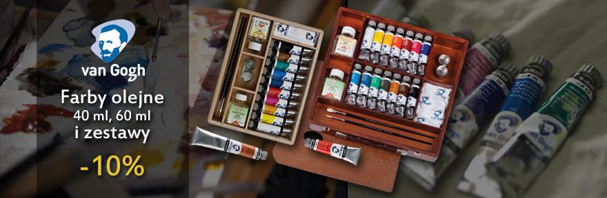 Farby olejne Talens van Gogh w promocji 10%