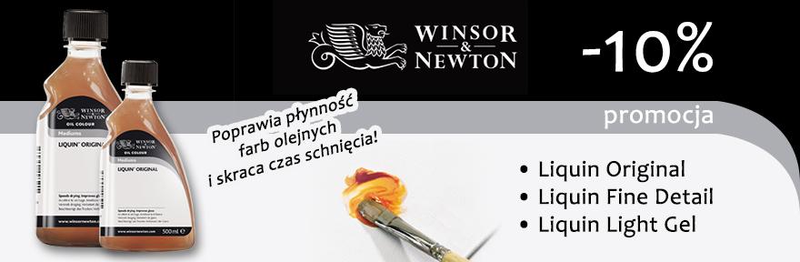 Promocja Liquin Winsor Newton
