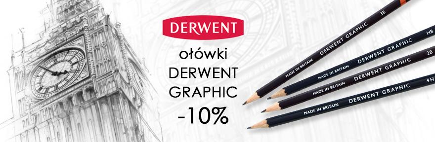 Ołówki rysunkowe Derwent Graphic taniej o 10%