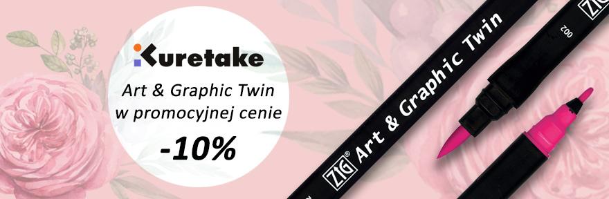Pisaki Art&Graphic Twin na sztuki MINUS 10 %