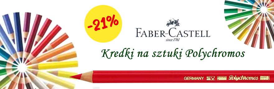 Kredki rysunkowe Polychromos Faber-Castell 21% TANIEJ