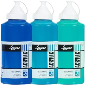 Farby akrylowe Lefranc Louvre 750 ml