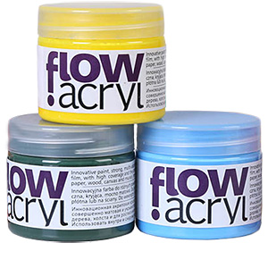 Farby akrylowe Renesans Flow 50 ml