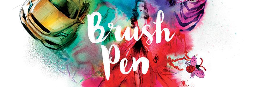 Pisaki akwarelowe Ecoline Brush Pen
