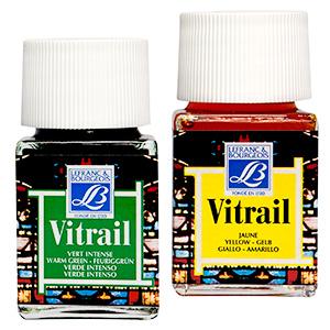 Farby do szkła Vitrail Lefranc