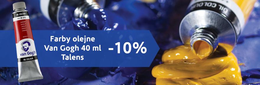 Farby olejne Talens vanGogh 40 ml TANIEJ o 10%