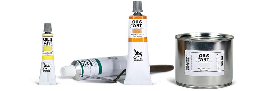 Renesans Olej For Art 140 ml Farby olejne