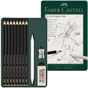 pitt graphite matt faber castell