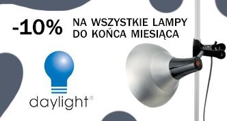 Lampy Daylight taniej o 10 %