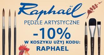 Pędzle akwarelowe akwarele Raphael 10% taniej!