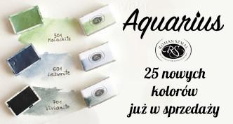 Aquarius Roman Szmal Art - 25 nowych kolorów akwareli