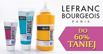 Farby akrylowe Louvre 60% taniej! Pojemności 80, 200 i 750 ml