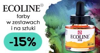 Farby akwarelowe Talens Ecoline 15% TANIEJ w zestawach i na sztuki!