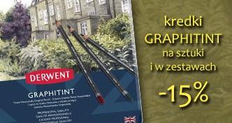 Grafit barwiony w kredce Derwent Graphitint 15 % taniej!