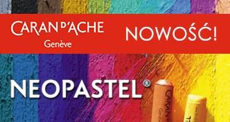 Pastele olejne Neopastel marki Caran d'Ache
