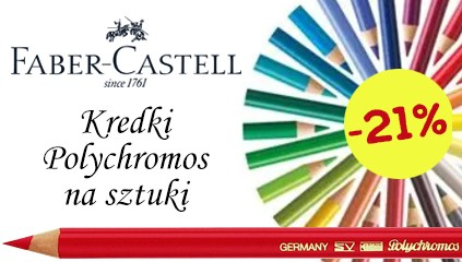 Kredki Faber Castell Polychromos 21% Taniej
