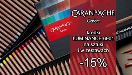 Profesjonalne kredki Caran d'Ache Luminance 15% TANIEJ. Dotyczy kredek na sztuki