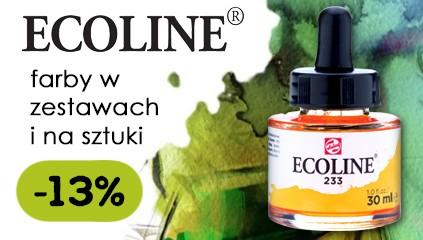 Farby akwarelowe Ecoline Talens – Rabat 13 %
