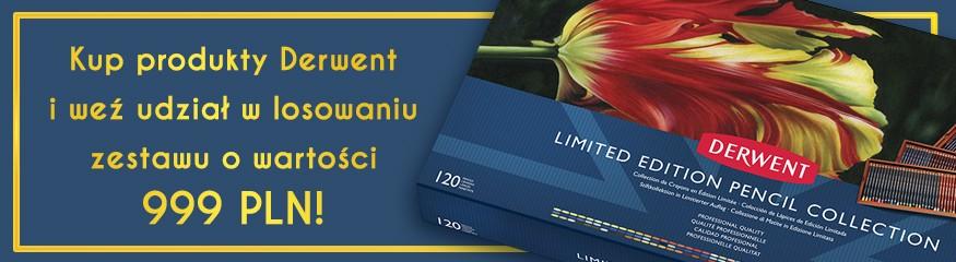 Kup produkty Derwent o łącznej wartości 100 PLN i weź udział w losowaniu