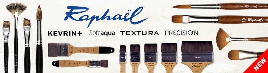 Nowe pędzle marki Raphael - Precision, Textura i Kevrin+
