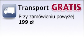 Transport zamówień gratis powyżej kwoty 199 zł