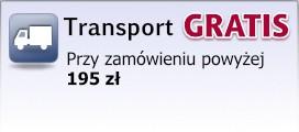 Transport gratis już przy zamówieniu powyżej 195 zł