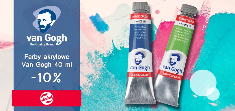 Akryl van Gogh promocja