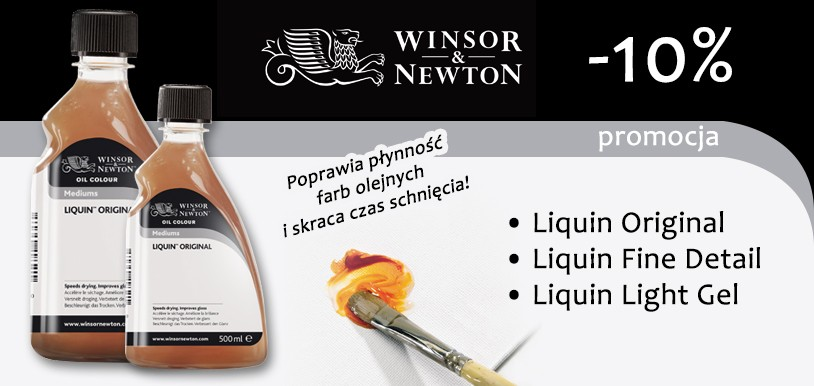 Liquin Original, Light Gel, Fine Detail Winsor & Newton 10% taniej