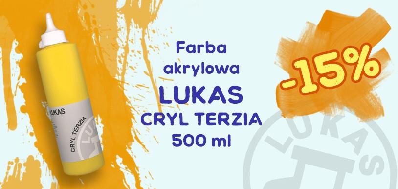 Farby akrylowe Lukas Cryl Terzia 15% TANIEJ!
